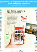 Dating app and HIV - making possible an international partnership within the Brazilian government