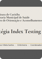 Estratégia Index Testing (Juliane Cardoso)